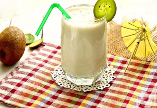 Молочный коктейль с киви